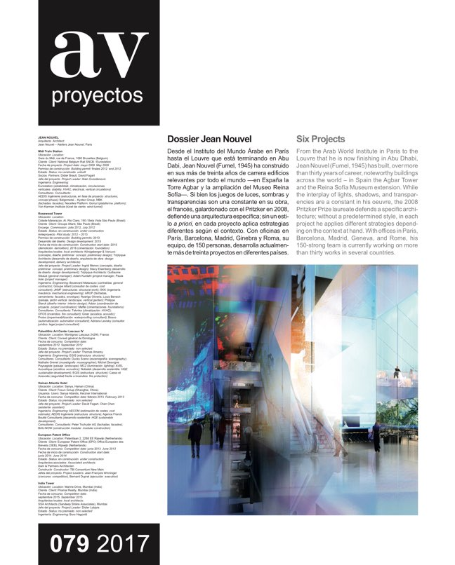 AV Proyectos 79 Dossier Jean Nouvel - Preview 2