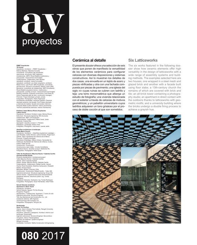 AV Proyectos 80 Andrés Jaque - Preview 8