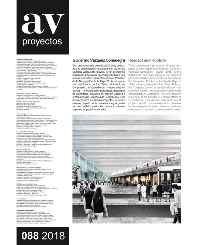 AV Proyectos 88 Vázquez Consuegra - Preview 3