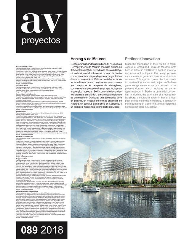 AV Proyectos 89 HERZOG & DE MEURON - Preview 2