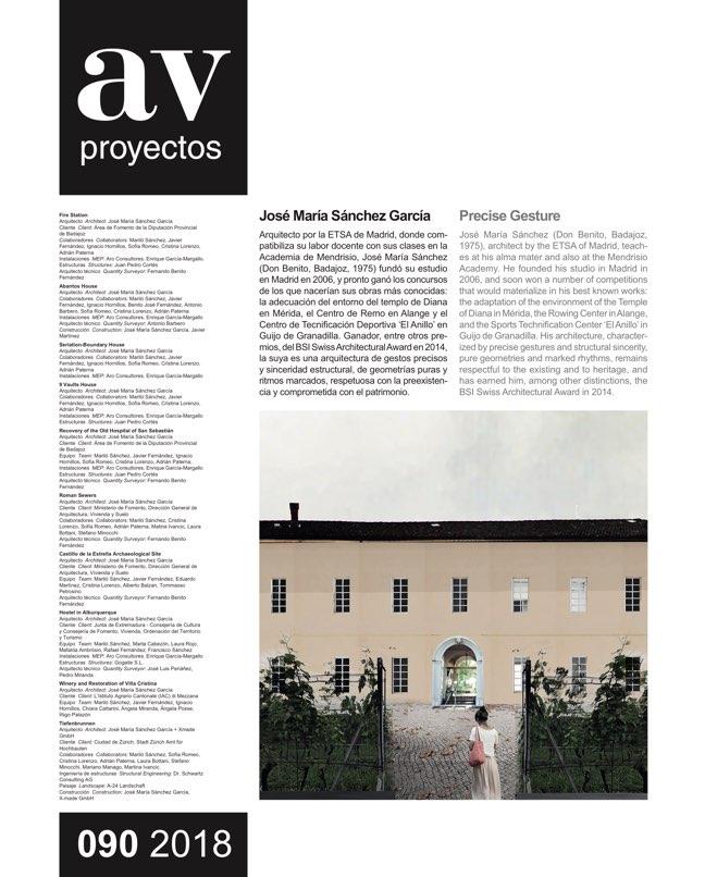 AV Proyectos 90 JOSÉ MARÍA SÁNCHEZ - Preview 2