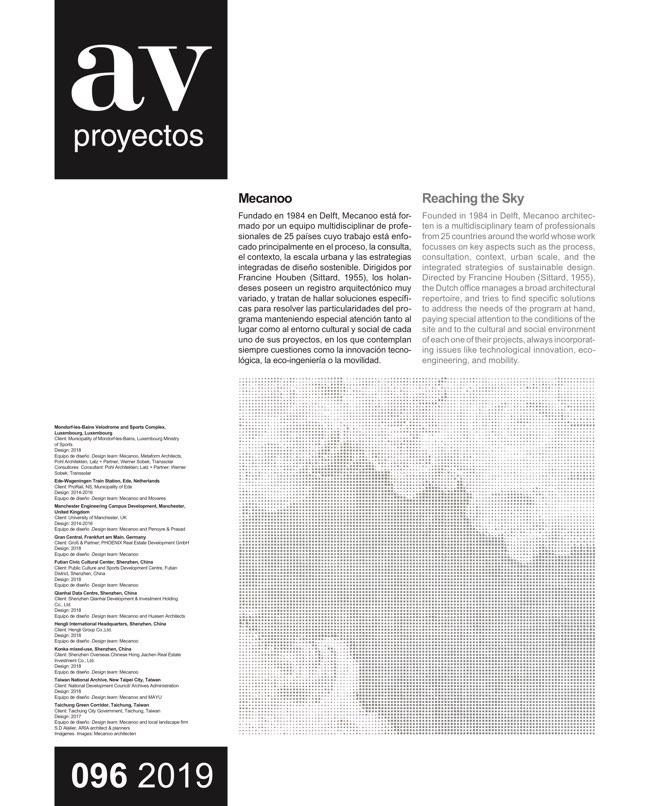 AV Proyectos 96 Dossier Mecanoo - Preview 2