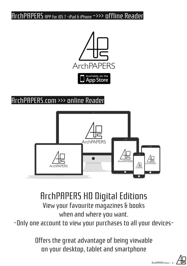 #001 ArchPAPERS magazine - Preview 1