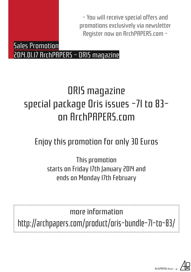 #001 ArchPAPERS magazine - Preview 3