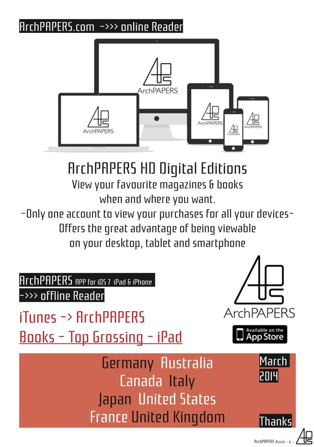 #002 ArchPAPERS magazine - Preview 1