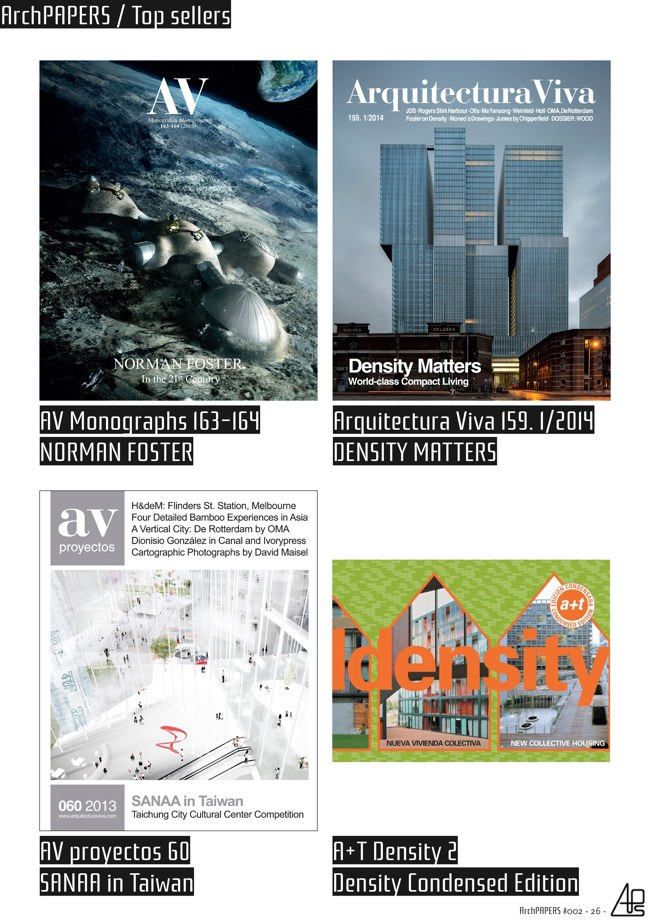 #002 ArchPAPERS magazine - Preview 26