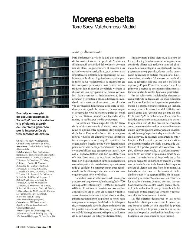 Arquitectura Viva 121 TORRES DE ESPAÑA - Preview 11
