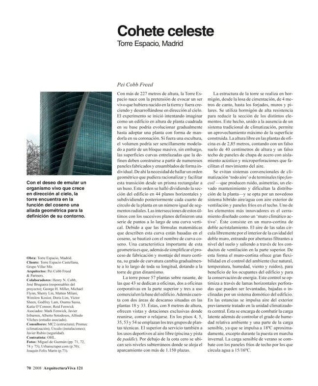 Arquitectura Viva 121 TORRES DE ESPAÑA - Preview 15