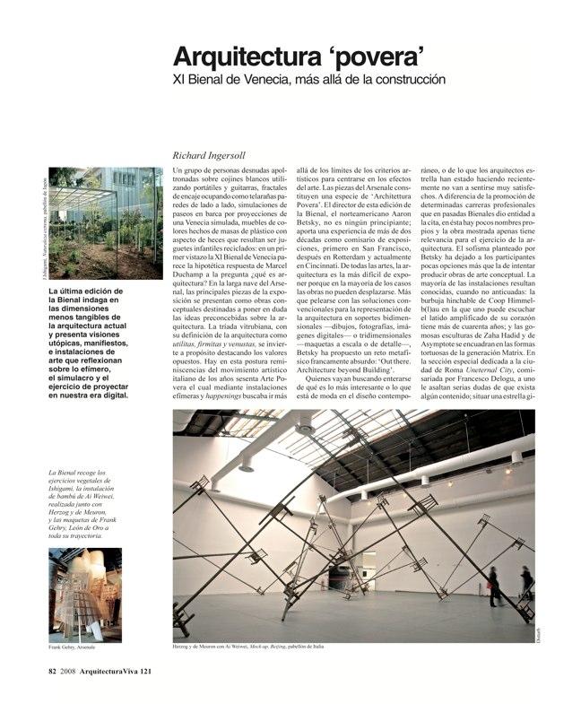 Arquitectura Viva 121 TORRES DE ESPAÑA - Preview 18