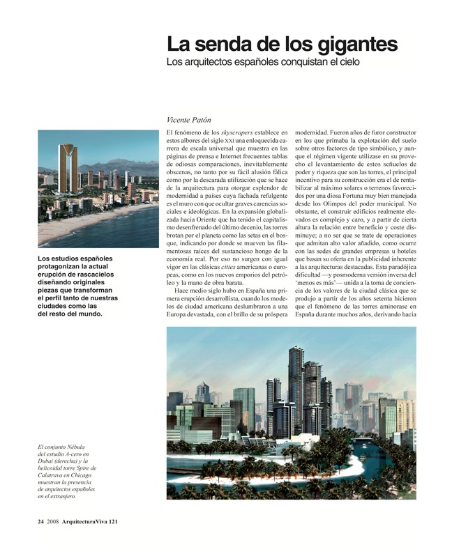 Arquitectura Viva 121 TORRES DE ESPAÑA - Preview 6