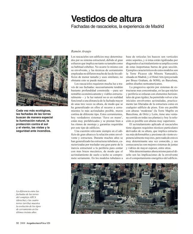 Arquitectura Viva 121 TORRES DE ESPAÑA - Preview 8