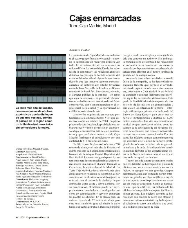 Arquitectura Viva 121 TORRES DE ESPAÑA - Preview 9