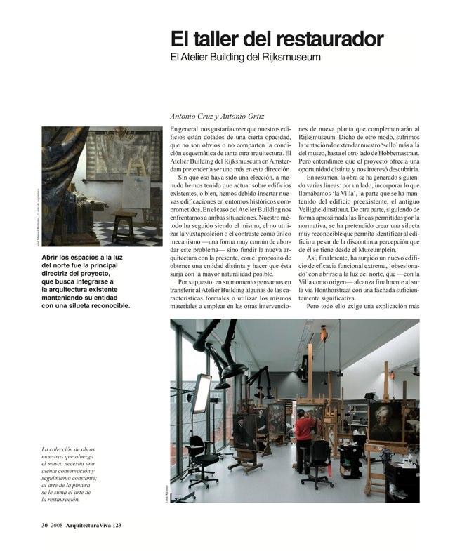 Arquitectura Viva 123 MUSEOS CIUDADANOS - Preview 4