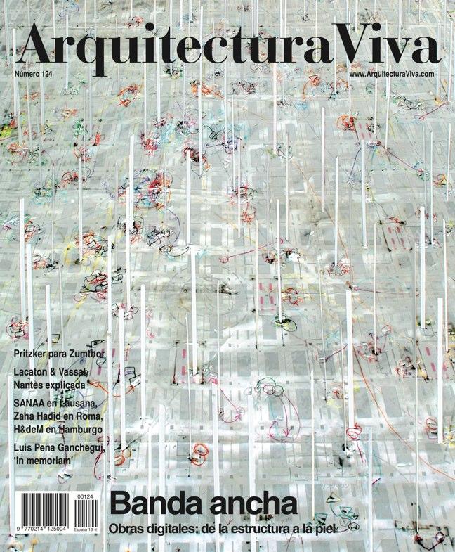 Arquitectura Viva 124 Banda Ancha · Broadband