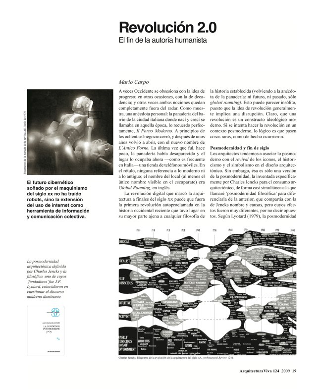 Arquitectura Viva 124 Banda Ancha · Broadband - Preview 2