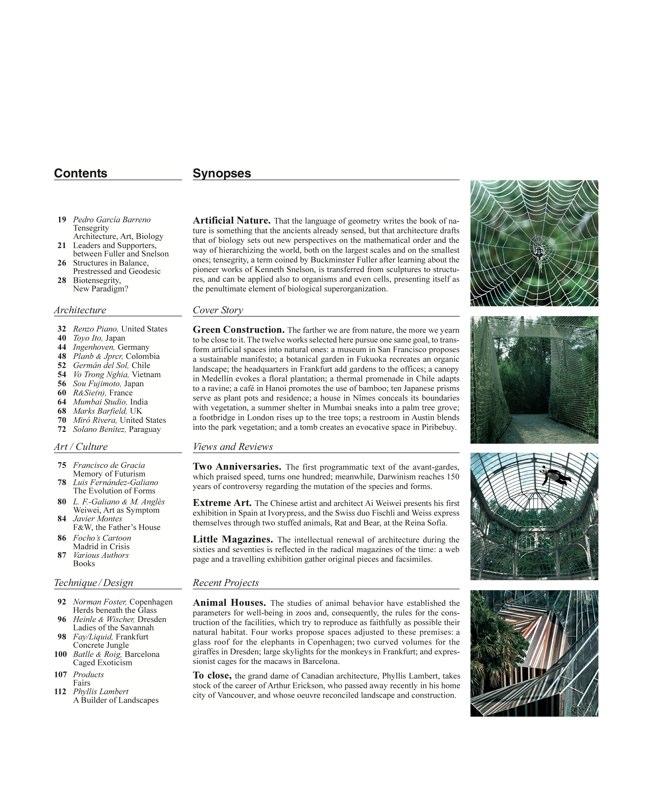 Arquitectura Viva 125 Naturaleza artificial I Artificial Nature - Preview 2