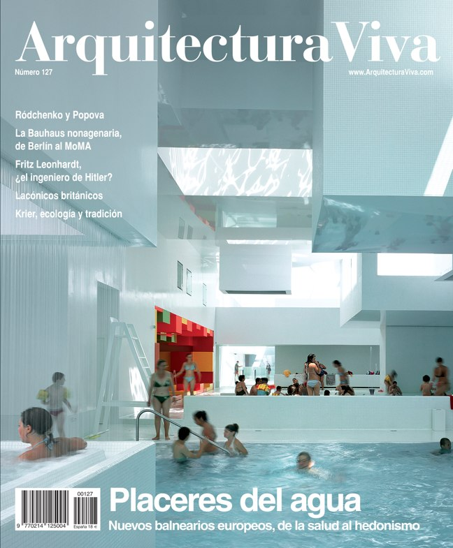 Arquitectura Viva 127 Los placeres del agua I The Pleasures of Water