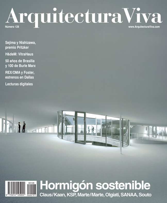 Arquitectura Viva 128 Hormigón sostenible I Sustainable concrete