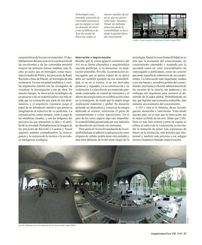 Arquitectura Viva 128 Hormigón sostenible I Sustainable concrete - Preview 3