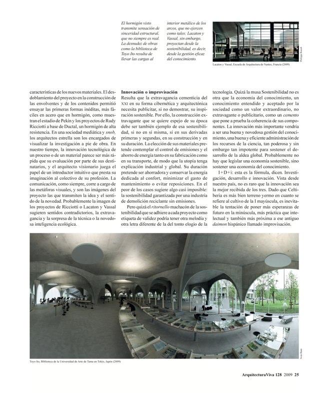 Arquitectura Viva 128 Hormigón sostenible I Sustainable concrete - Preview 3