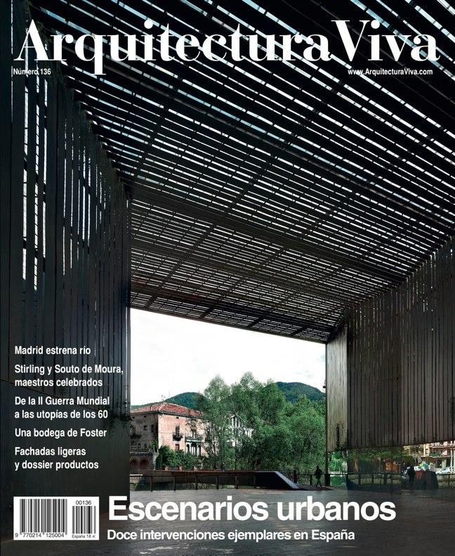 Arquitectura Viva 136 Escenarios Urbanos