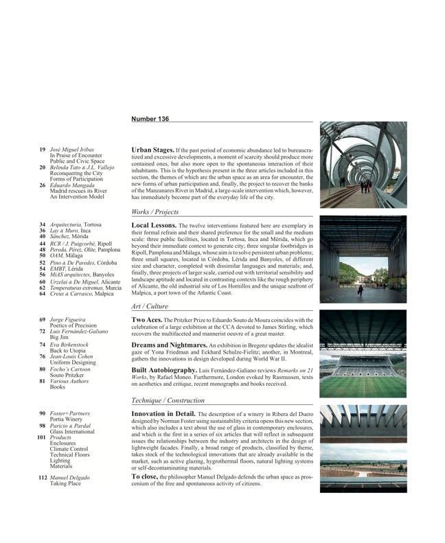 Arquitectura Viva 136 Escenarios Urbanos - Preview 2