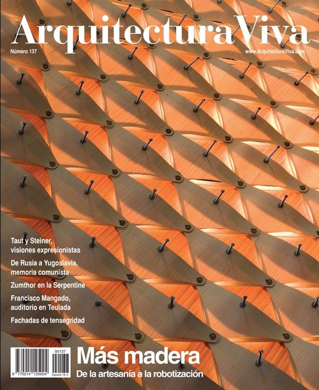 Arquitectura Viva 137 Más madera