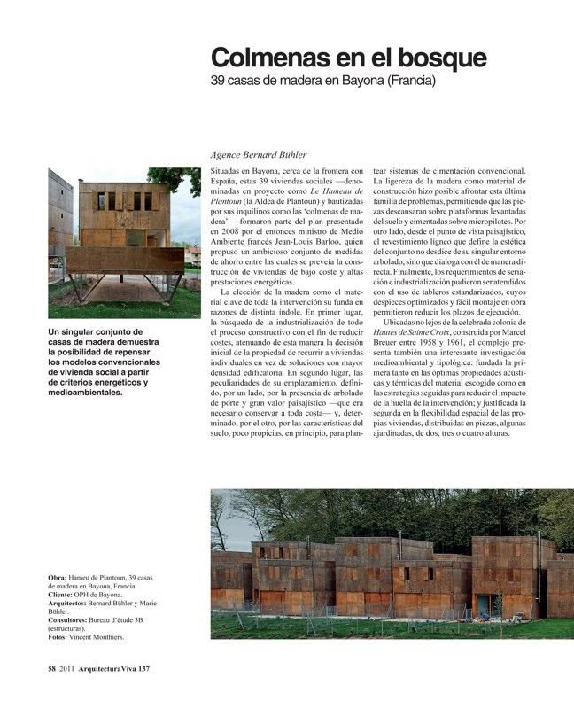 Arquitectura Viva 137 Más madera - Preview 5