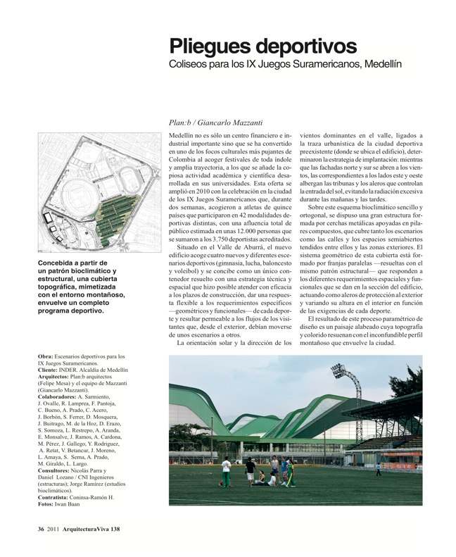 Arquitectura Viva 138 Mosaico Colombia - Preview 4