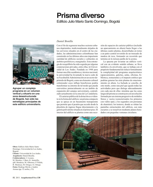 Arquitectura Viva 138 Mosaico Colombia - Preview 6