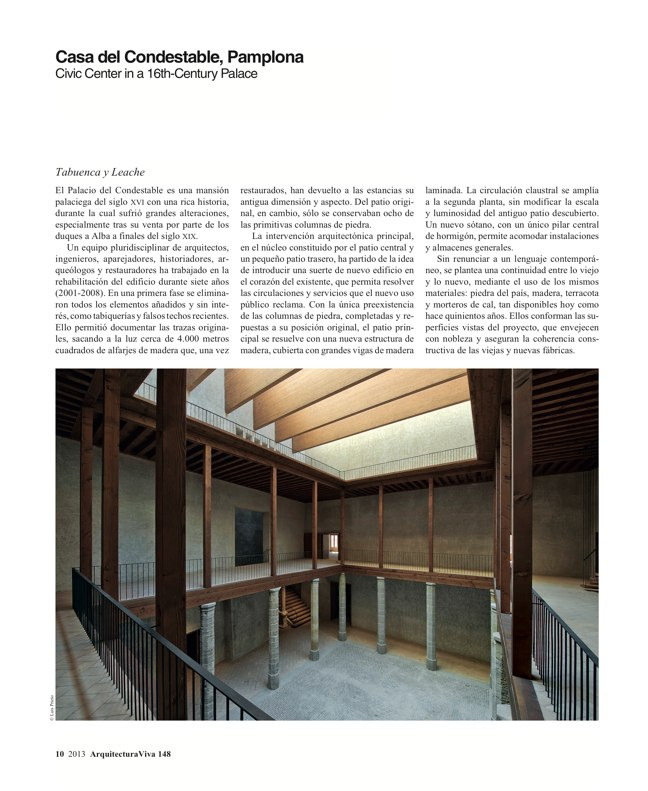 Arquitectura Viva 148 Transformaciones / Transformations - Preview 8