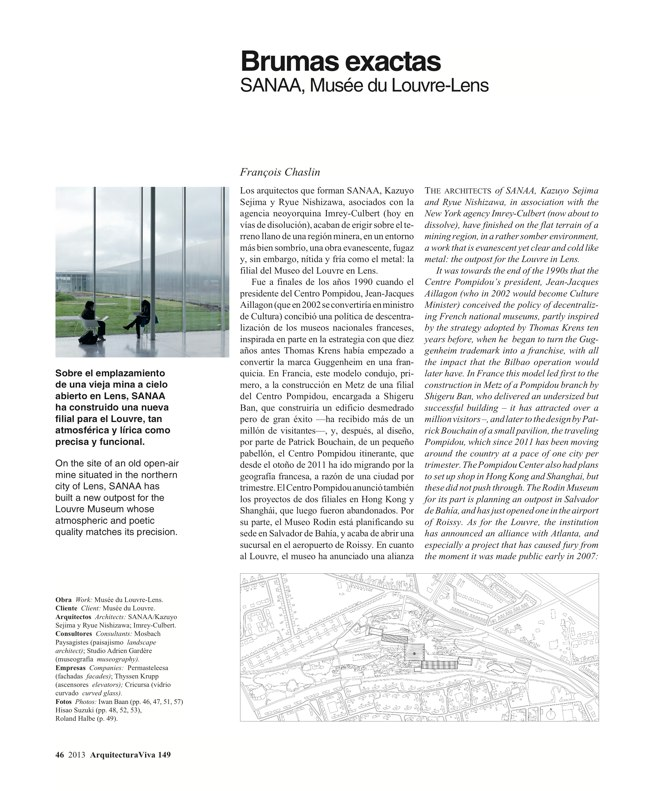 Arquitectura Viva 149 FRANCE IN FRONT / FRANCIA AL FRENTE - Preview 11