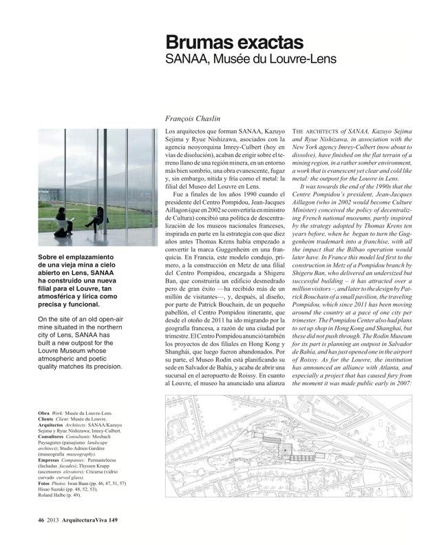 Arquitectura Viva 149 FRANCE IN FRONT / FRANCIA AL FRENTE - Preview 11