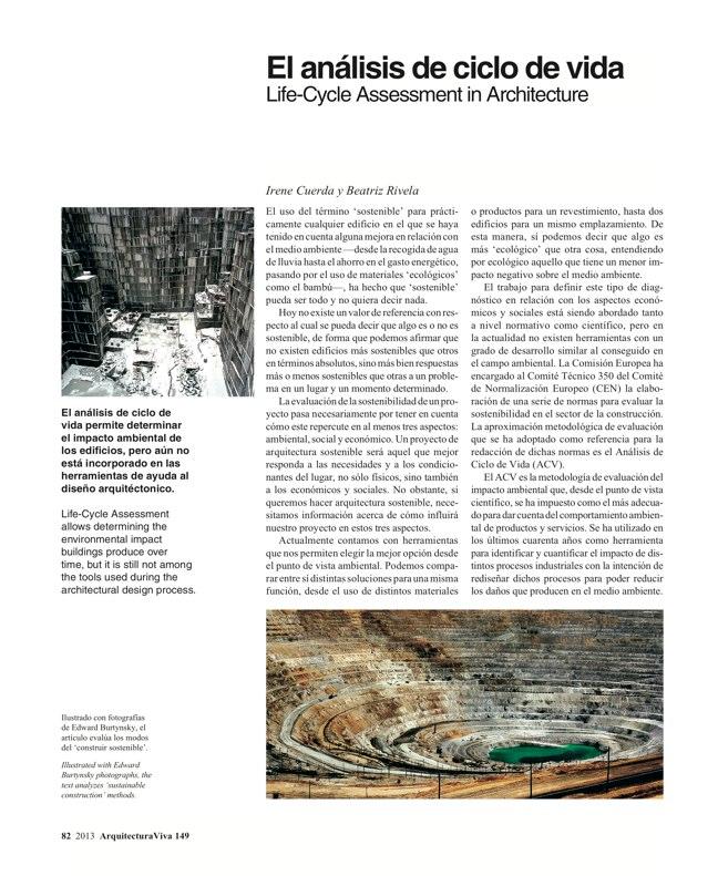 Arquitectura Viva 149 FRANCE IN FRONT / FRANCIA AL FRENTE - Preview 17