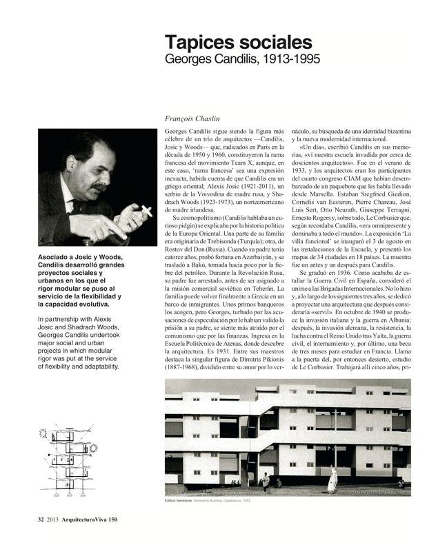 Arquitectura Viva 150. 03/13 Maestros centenarios CENTENARY MASTERS - Preview 10