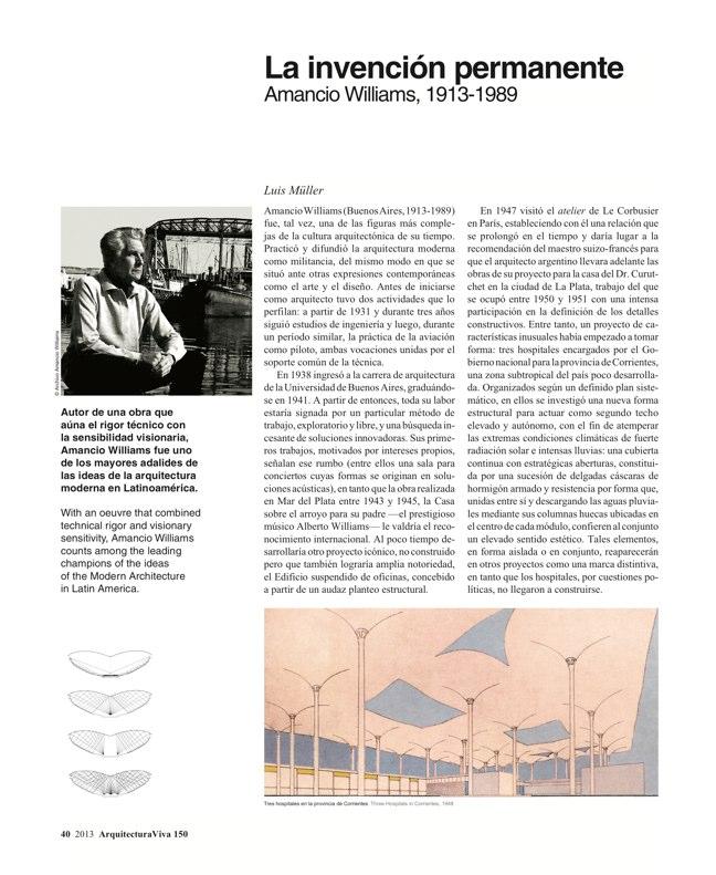 Arquitectura Viva 150. 03/13 Maestros centenarios CENTENARY MASTERS - Preview 12