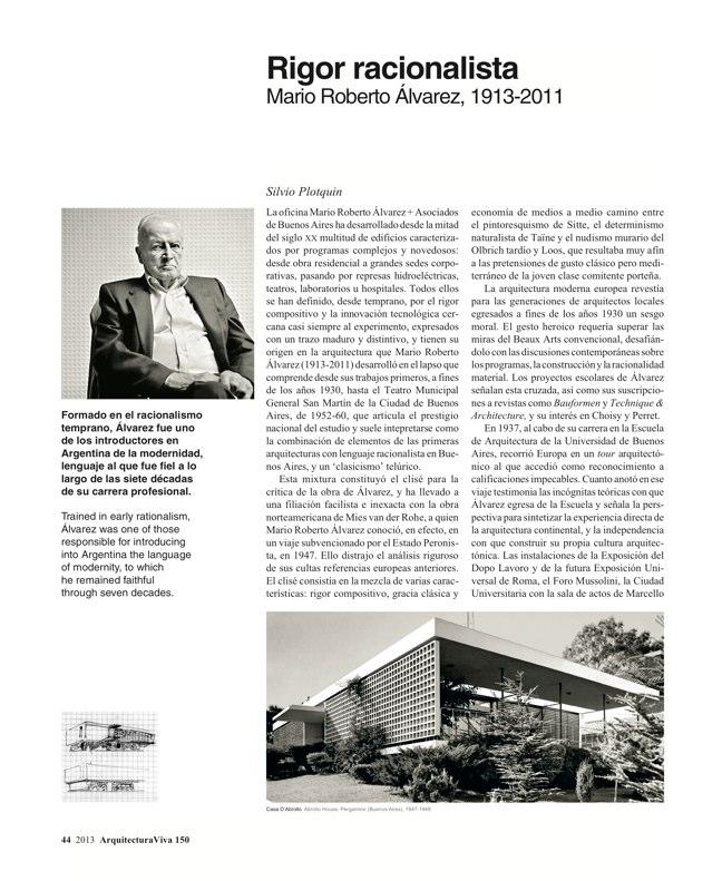 Arquitectura Viva 150. 03/13 Maestros centenarios CENTENARY MASTERS - Preview 13