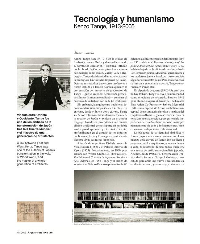 Arquitectura Viva 150. 03/13 Maestros centenarios CENTENARY MASTERS - Preview 14
