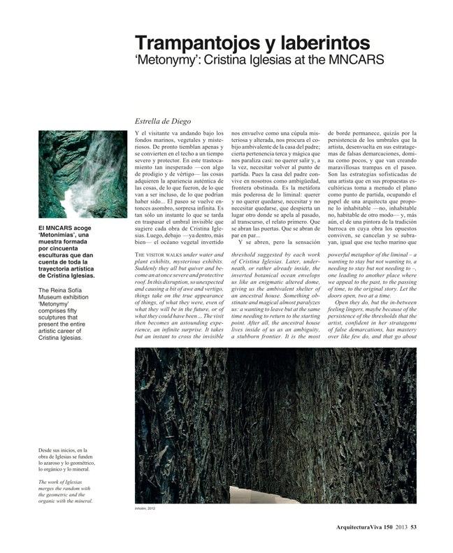 Arquitectura Viva 150. 03/13 Maestros centenarios CENTENARY MASTERS - Preview 15