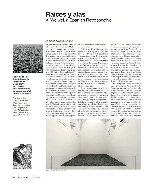 Arquitectura Viva 150. 03/13 Maestros centenarios CENTENARY MASTERS - Preview 16