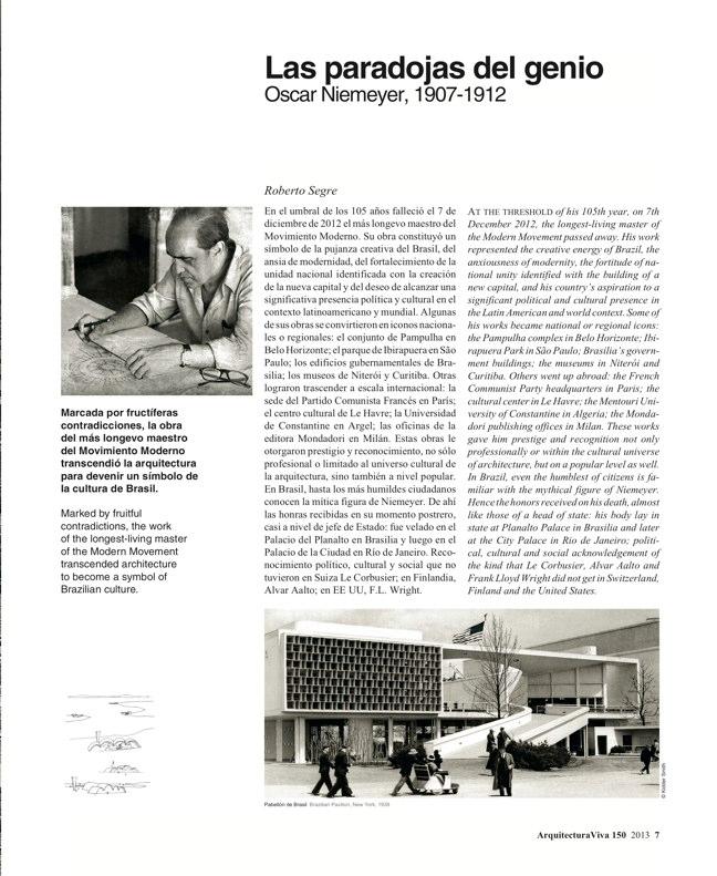 Arquitectura Viva 150. 03/13 Maestros centenarios CENTENARY MASTERS - Preview 4