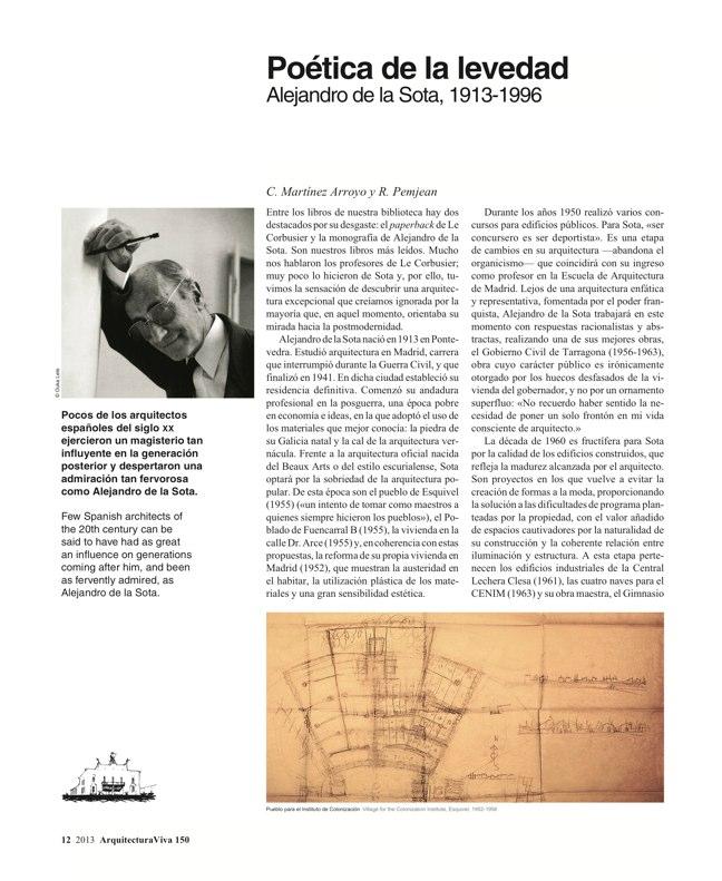 Arquitectura Viva 150. 03/13 Maestros centenarios CENTENARY MASTERS - Preview 5