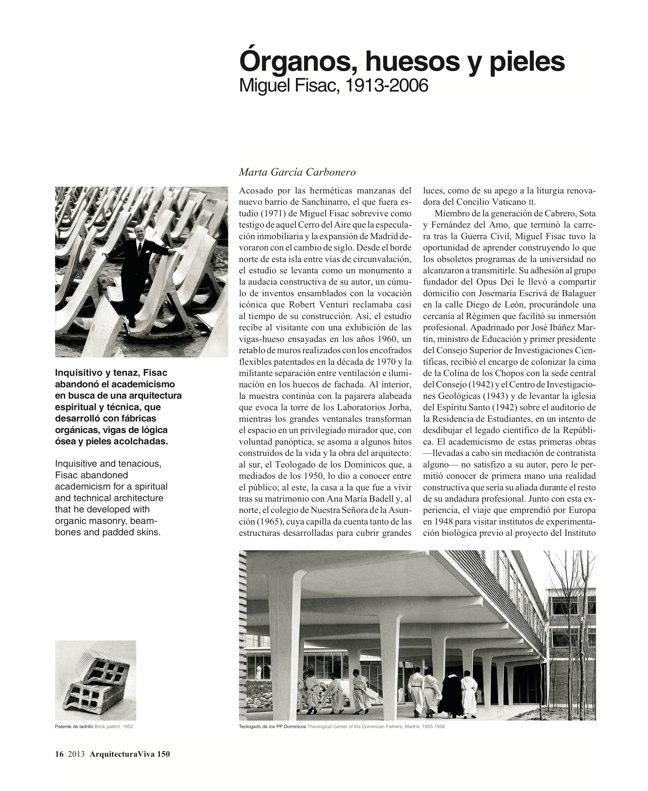 Arquitectura Viva 150. 03/13 Maestros centenarios CENTENARY MASTERS - Preview 6