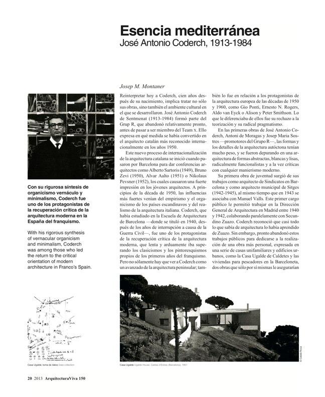 Arquitectura Viva 150. 03/13 Maestros centenarios CENTENARY MASTERS - Preview 7