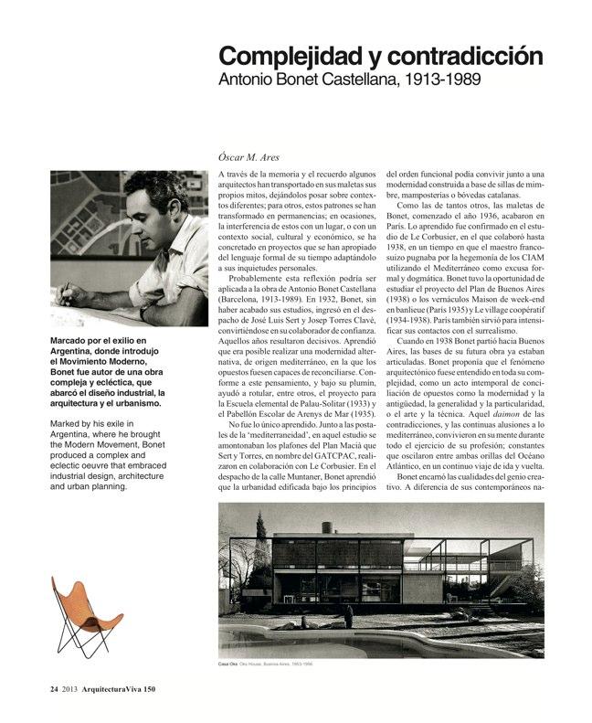 Arquitectura Viva 150. 03/13 Maestros centenarios CENTENARY MASTERS - Preview 8
