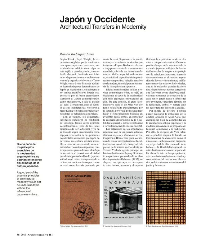 Arquitectura Viva 151 LOCAL MATERIAL. Back to Basics: Essential Experiences - Preview 14