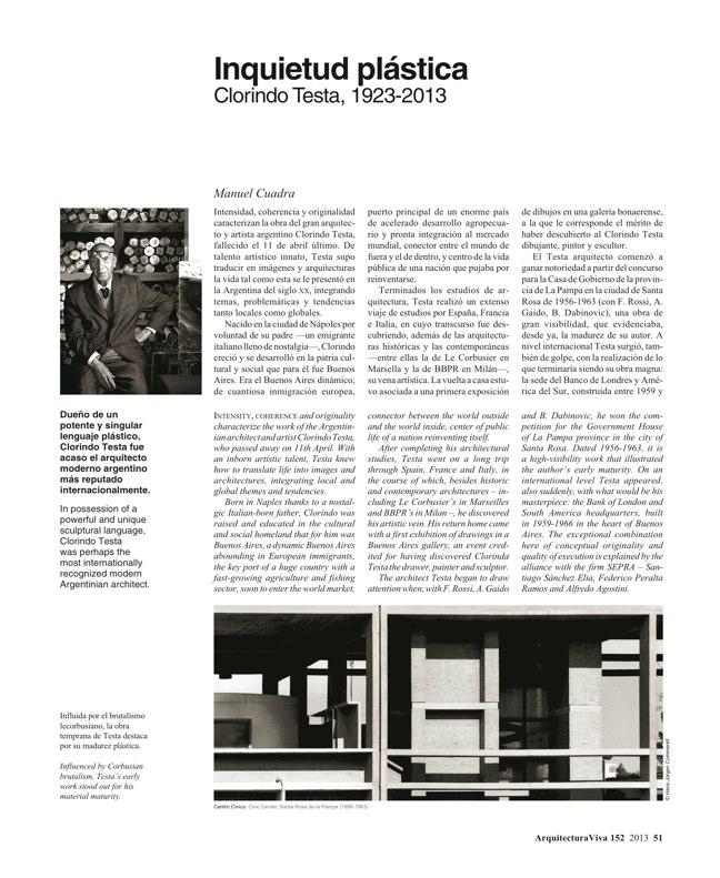 Arquitectura Viva 152 - Preview 14