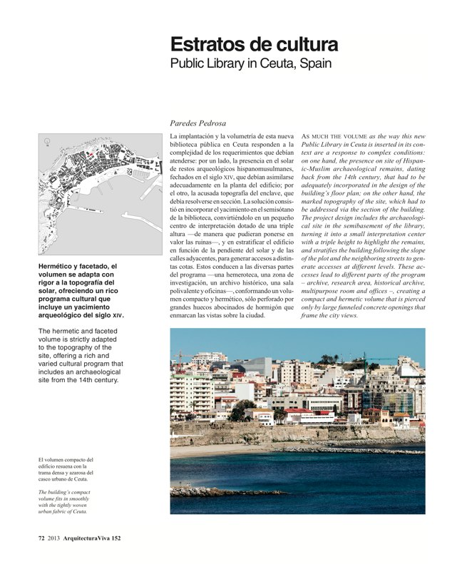 Arquitectura Viva 152 - Preview 17