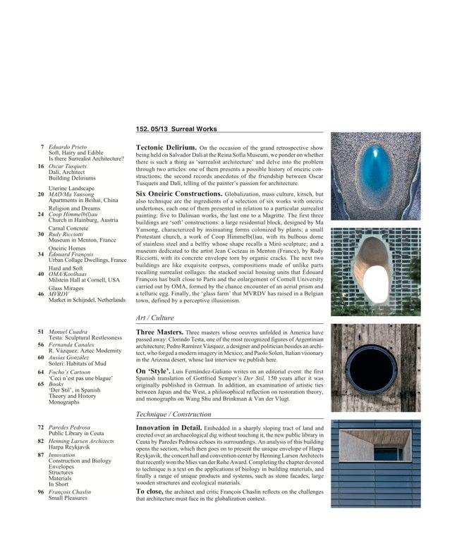 Arquitectura Viva 152 - Preview 2