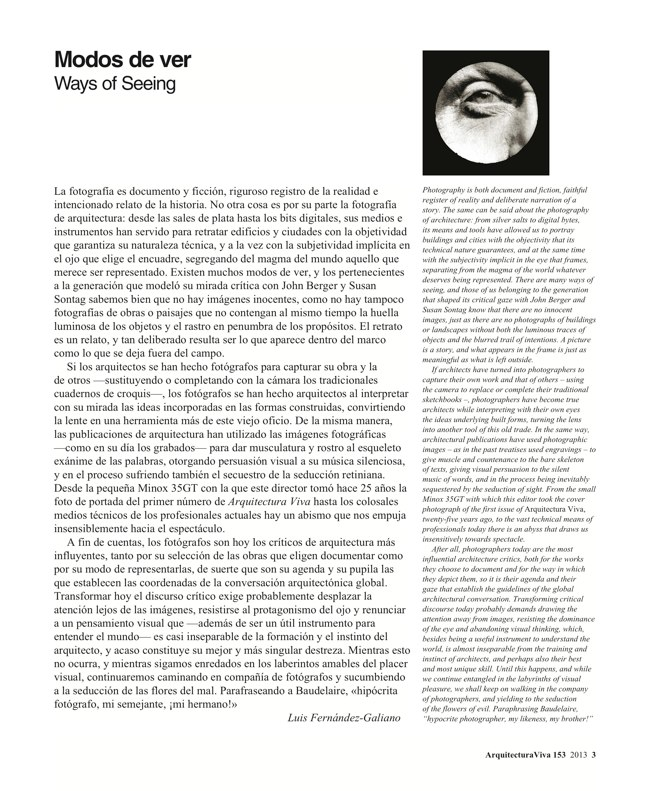 Arquitectura Viva 153 WAYS OF SEEING - Preview 3